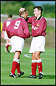 3rd October 98      .Copyright Pic : James Stewart   .STENHOUSEMUIR V ALBION ROVERS.ALAN LAWRENCE  IS CONGRATULATED BY ADRIAN SPROT AFTER HE FIRED HOME STENNY'S THIRD GOAL......Payments to :-.James Stewart Photo Agency, Stewart House, Stewart Road, Falkirk. FK2 7AS      Vat Reg No. 607 6932 25.Office : 01324 630007        Mobile : 0421 416997.If you require further information then contact Jim Stewart on any of the numbers above.........
