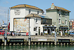 The Bridge Tavern in Old Portsmouth, Hampshire, England