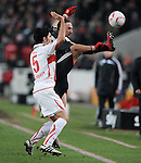Fussball 1. Bundesliga  Saison 2010/2011: VfB Stuttgart - FC Bayern Muenchen