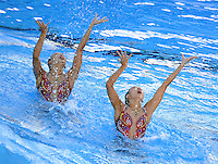 Roma 20th July 2009 - 13th Fina World Championships From 17th to 2nd August 2009..Rome (Italy) 20 07 2009..Synchronized swimming - Technical duet preliminaries..Team China......photo: Roma2009.com/InsideFoto/SeaSee.com