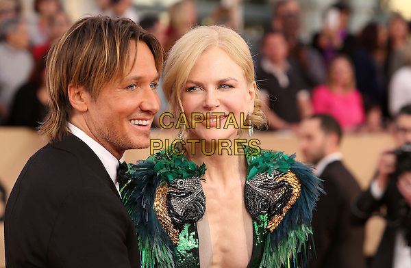29 January 2017 - Los Angeles, California - Keith Urban, Nicole Kidman. 23rd Annual Screen Actors Guild Awards held at The Shrine Expo Hall. <br /> CAP/ADM/FS<br /> &copy;FS/ADM/Capital Pictures