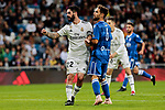 Real Madrid's Francisco Alarcon 'Isco' celebrate goal during Copa del Rey match between Real Madrid and UD Melilla at Santiago Bernabeu Stadium in Madrid, Spain. December 06, 2018. (ALTERPHOTOS/A. Perez Meca)