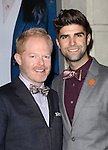 Jesse Tyler Ferguson and Justin Mikita attending the Broadway Opening Night Performance of 'IF/THEN' at the Richard Rodgers Theatre on March 30, 2014 in New York City.
