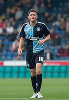 Dan Rowe of Wycombe Wanderers during the Sky Bet League 2 match between Wycombe Wanderers and Northampton Town at Adams Park, High Wycombe, England on 3 October 2015. Photo by Andy Rowland.