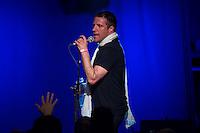 Sleaford Mods spielten am Freitag den 19. Juni 2015 live im Berliner Club SO36.<br /> Sleaford Mods ist ein englisches Post-Punk-/Hip-Hop-Duo aus Nottingham, bestehend aus Saenger/Rapper Jason Williamson und Multiinstrumentalist Andrew Robert Lindsay Fearn.<br /> 19.6.2015, Berlin<br /> Copyright: Christian-Ditsch.de<br /> [Inhaltsveraendernde Manipulation des Fotos nur nach ausdruecklicher Genehmigung des Fotografen. Vereinbarungen ueber Abtretung von Persoenlichkeitsrechten/Model Release der abgebildeten Person/Personen liegen nicht vor. NO MODEL RELEASE! Nur fuer Redaktionelle Zwecke. Don't publish without copyright Christian-Ditsch.de, Veroeffentlichung nur mit Fotografennennung, sowie gegen Honorar, MwSt. und Beleg. Konto: I N G - D i B a, IBAN DE58500105175400192269, BIC INGDDEFFXXX, Kontakt: post@christian-ditsch.de<br /> Bei der Bearbeitung der Dateiinformationen darf die Urheberkennzeichnung in den EXIF- und  IPTC-Daten nicht entfernt werden, diese sind in digitalen Medien nach &sect;95c UrhG rechtlich geschuetzt. Der Urhebervermerk wird gemaess &sect;13 UrhG verlangt.]