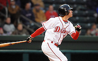 April 3, 2008: Outfielder Josh Reddick (3) of the Greenville Drive, Class A affiliate of the Boston Red Sox, during the season opener against the Kannapolis Intimidators at Fluor Field at the West End in Greenville, S.C. Photo by:  Tom Priddy/Four Seam Images