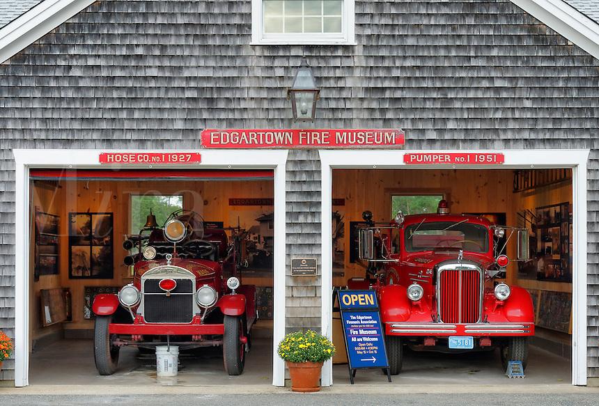 Fire Musem, Edgartown, Martha's Vineyard, Massachusetts, USA