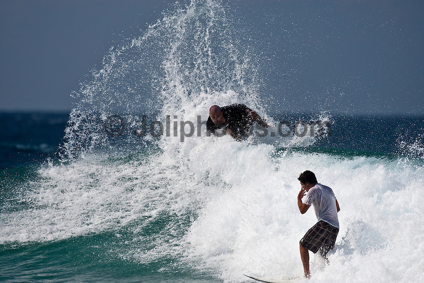 Nine times World Surfing Champion KELLY SLATER (USA) surfing at Snapper Rocks,The Superbank, Coolangatta , Queensland, Australia.  Photo: joliphotos.com