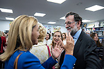 "Dolores de Cospedal and the former president of the government, Mariano Rajoy, in the presentation of the book ""Cada dia tiene su afan"" by former minister Jorge Fernandez Diaz.<br /> October 10, 2019. <br /> (ALTERPHOTOS/David Jar)"