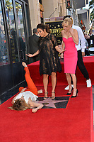 Felicity Huffman, Eva Longoria &amp; Anna Faris at the Hollywood Walk of Fame Star Ceremony honoring actress Eva Longoria, Los Angeles, USA 16 April 2018<br /> Picture: Paul Smith/Featureflash/SilverHub 0208 004 5359 sales@silverhubmedia.com