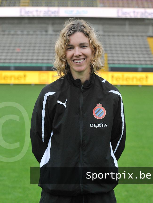 Club Brugge Dames : Jessie Descheemaecker.foto VDB / BART VANDENBROUCKE