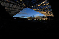 A general view of Liberty Stadium, home of Ospreys<br /> <br /> Photographer Ashley Crowden/CameraSport<br /> <br /> Guinness Pro14 Round 6 - Ospreys v Scarlets - Saturday 7th October 2017 - Liberty Stadium - Swansea<br /> <br /> World Copyright &copy; 2017 CameraSport. All rights reserved. 43 Linden Ave. Countesthorpe. Leicester. England. LE8 5PG - Tel: +44 (0) 116 277 4147 - admin@camerasport.com - www.camerasport.com