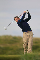 Gary Collins (Rosslare)<br /> during R1 of the East of Ireland Amateur Open championship 2013 at Co Louth Golf club, 1/6/13<br /> Picture:  Thos Caffrey / www.golffile.ie
