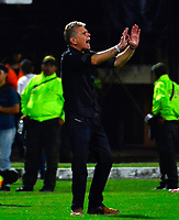 CÚCUTA - COLOMBIA, 23-03-2019: Pablo Autuori, técnico de Atlético Nacional, durante partido entre Cúcuta Deportivo y Atlético Nacional, de la fecha 11 por la Liga Águila I-2019, jugado en el estadio General Santander de la ciudad de Cúcuta. / Pablo Autuori, coach of Atletico Nacional, during a match between Cucuta Deportivo and Atletico Nacional, of the 11th date for the Liga Aguila I 2019 at the General Santander Stadium in Cucuta city Photo: VizzorImage / Edgar Cusguen / Cont.