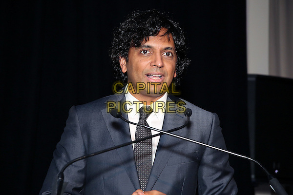 PHILADELPHIA, PA - OCTOBER 20 :  M Night Shyamalan receives the First Annual Lumiere Award from Festival CEO J Andrew Greenblatt at the 25th annual Philadelphia Film Festival at AKA Washington Square in Philadelphia, Pa on October 20, 2016     <br /> CAP/MPI/STA<br /> &copy;STA/MPI/Capital Pictures