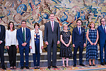 King Felipe during the audience with working commission for the commemoration of the 130th anniversary of the promulgation of the civil code. July 8 ,2019. (ALTERPHOTOS/Francis Gonzalez)