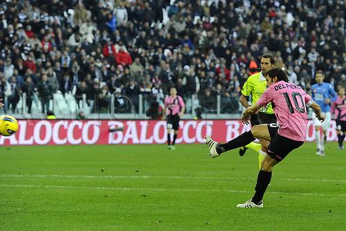 18.12.2011. Turin, Italy.    Series A 2011 2012 Juventus  vs Novara Calcio Alessandro DEL Piero