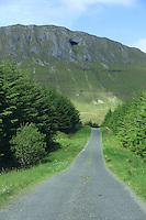 Gleniff Horseshoe, County Sligo, Ireland.