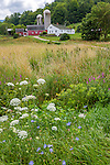 A farm in Pownal, Vermont, USA