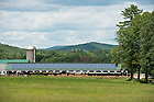 Hunt Farm, a 250-cow dairy in western Massachusetts, is one of Jordan Energy's current customers. A few years ago, owner George Hunt Jr. installed a 55-kilowatt system on his barn roof to cover his farm operation.