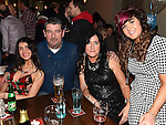 Chloe, Damien and Paula Lee and Danielle O'Brien at Benner Maguire's 50th birthday in The Thatch. Photo:Colin Bell/pressphotos.ie