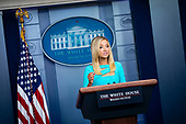 White House Press Secretary Kayleigh McEnany, speaks during a news conference in the in the Brady Press Briefing Room of the White House in Washington, DC, on Wednesday, September 16, 2020. <br /> Credit: Al Drago / Pool via CNP