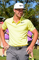 Kevin Chappell (USA) is elated after winning the 2017 Valero Texas Open, AT&amp;T Oaks Course, TPC San Antonio, San Antonio, Texas, USA. 4/23/2017.<br /> Picture: Golffile | Ken Murray<br /> <br /> <br /> All photo usage must carry mandatory copyright credit (&copy; Golffile | Ken Murray)