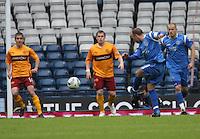 Jody Morris having a shot