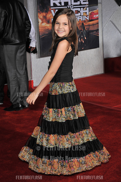 "Bailee Madison at the world premiere of ""Race to Witch Mountain"" at the El Capitan Theatre, Hollywood..March 11, 2009  Los Angeles, CA.Picture: Paul Smith / Featureflash"