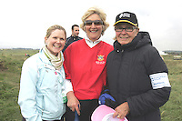 Eimear and Eleanor Branigan with Rita O'Connor at the 3 Irish Open Golf in Baltray...Photo NEWSFILE/Jenny Matthews.(Photo credit should read Jenny Matthews/NEWSFILE)....This Picture has been sent you under the condtions enclosed by:.Newsfile Ltd..The Studio,.Millmount Abbey,.Drogheda,.Co Meath..Ireland..Tel: +353(0)41-9871240.Fax: +353(0)41-9871260.GSM: +353(0)86-2500958.email: pictures@newsfile.ie.www.newsfile.ie.FTP: 193.120.102.198.