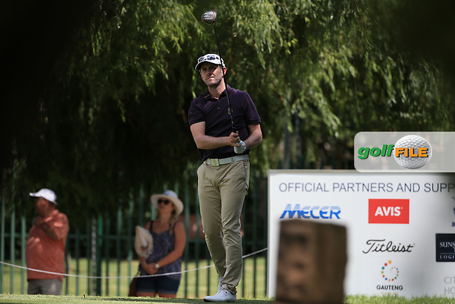 Stuart Manley (WAL) in action during Round Three of the 2016 BMW SA Open hosted by City of Ekurhuleni, played at the Glendower Golf Club, Gauteng, Johannesburg, South Africa.  09/01/2016. Picture: Golffile | David Lloyd<br /> <br /> All photos usage must carry mandatory copyright credit (&copy; Golffile | David Lloyd)