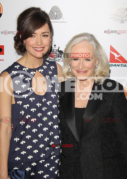 LOS ANGELES, CA - JANUARY 12: Rose Byrne and Glenn Close at the 2013 G'Day USA Los Angeles Black Tie Gala at JW Marriott Los Angeles at L.A. LIVE on January 12, 2013 in Los Angeles, California. Credit: mpi25/MediaPunch Inc. /NortePhoto /NortePhoto /NortePhoto /NortePhoto