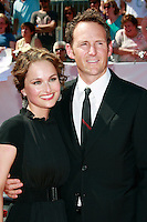 US Chef and TV personality Giada De Laurentiis arrives with her husband Todd Thompson at the 35th Annual Daytime Emmy Awards held at the Kodak Theatre in Los Angeles on June 20, 2008.