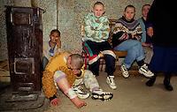 Kulina / Nis / Serbia.Pazienti dell'ospedale psichiatrico..Photo Livio Senigalliesi..Kulina / Nis / Serbia.Mental hospital..Photo Livio Senigalliesi