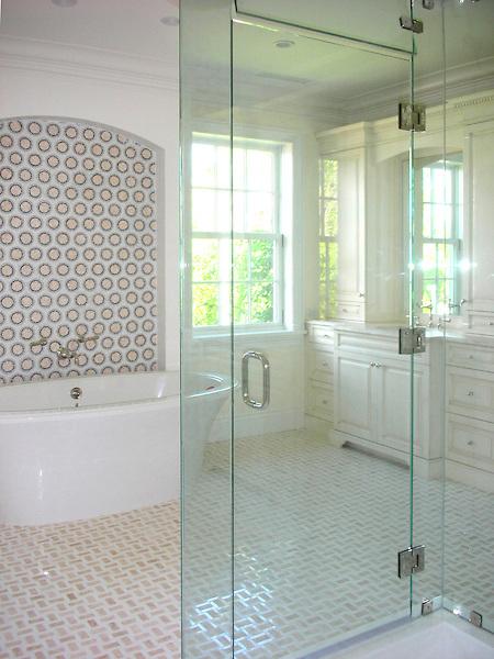 Classic Bathroom Floor Tile New Ravenna