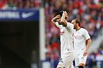 "Sevilla FC's Jesus J. Fernandez ""Suso"" reacts during La Liga match. Mar 07, 2020. (ALTERPHOTOS/Manu R.B.)"