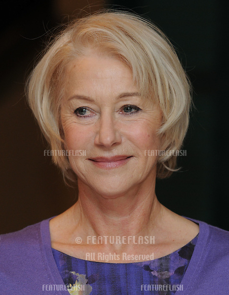 Helen Mirren arriving at The Women In Film And Television Awards 2009, at The Hilton, Park Lane, London. 04/12/2009.  Picture By: Steve Vas / Featureflash