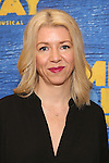 Kelly Devine attends the press day for Broadway's 'Come From Away' at Manhattan Movement and Arts Center on February 7, 2017 in New York City.