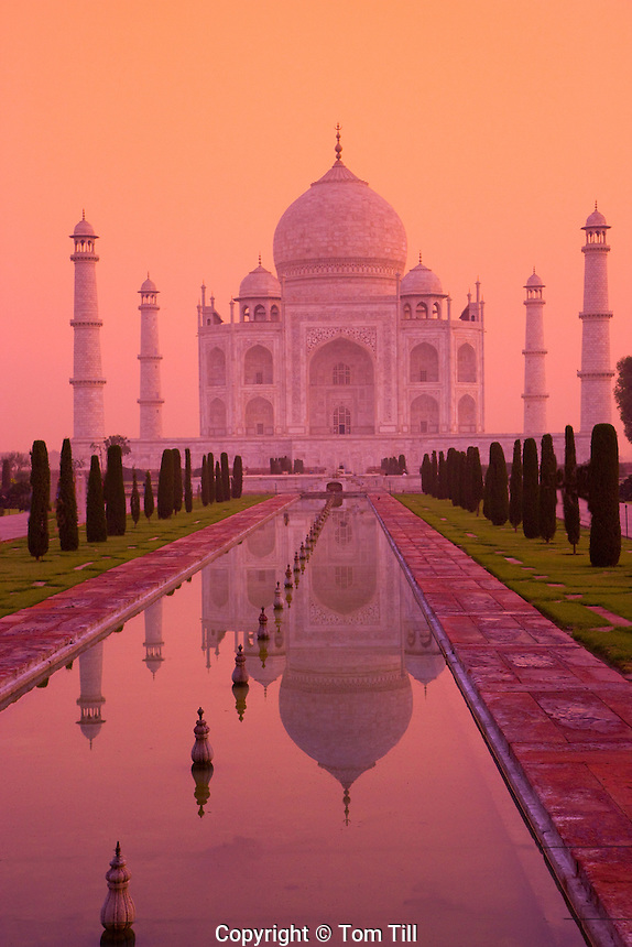 Taj Mahal                                 Agra, India    UNESCO World Heritage Site    Built in 1631 by Shal Jahan for wife Mumtaz