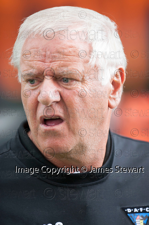 Dunfermline manager Jim Jeffries at the end of the game.