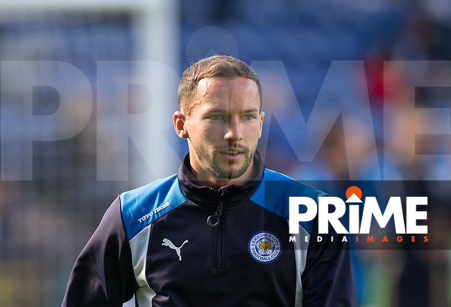 Danny Drinkwater of Leicester City pre match during the Premier League match between Leicester City and Southampton at the King Power Stadium, Leicester, England on 2 October 2016. Photo by Andy Rowland.