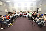 Drogheda Brass Band in their new practice rooms...(Photo credit should read Jenny Matthews www.newsfile.ie)....This Picture has been sent you under the condtions enclosed by:.Newsfile Ltd..The Studio,.Millmount Abbey,.Drogheda,.Co Meath..Ireland..Tel: +353(0)41-9871240.Fax: +353(0)41-9871260.GSM: +353(0)86-2500958.email: pictures@newsfile.ie.www.newsfile.ie.