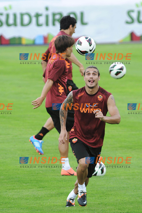 Daniel Pablo Osvaldo.Riscone di Brunico (BZ) 06/07/2012 Allenamento As Roma.Football Calcio 2012/2013 .Foto Insidefoto Christian Mantuano