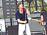 Cage the Elephant takes their place on the Coachella Stage on Saturday, April 19th!