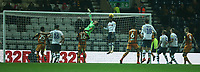 Preston North End's goalkeeper Declan Rudd and Daniel Johnson fail to clear the ball and allow Hull City's Jackson Irvine to score the winning goal<br /> <br /> Photographer Stephen White/CameraSport<br /> <br /> The EFL Sky Bet Championship - Preston North End v Hull City - Wednesday 26th December 2018 - Deepdale Stadium - Preston<br /> <br /> World Copyright &copy; 2018 CameraSport. All rights reserved. 43 Linden Ave. Countesthorpe. Leicester. England. LE8 5PG - Tel: +44 (0) 116 277 4147 - admin@camerasport.com - www.camerasport.com