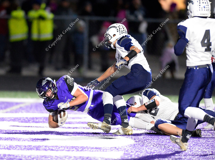 Reedsburg at Waunakee, Wisconsin high school football 9/28/18
