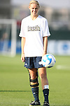 07 December 2007: Notre Dame's Carrie Dew. The Florida State Seminoles defeated the University of Notre Dame Fighting Irish played 3-2 at the Aggie Soccer Stadium in College Station, Texas in a NCAA Division I Womens College Cup semifinal game.