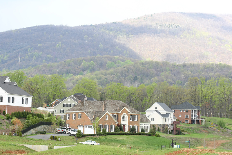 Old Trail housing and golf community located in Crozet, VA.