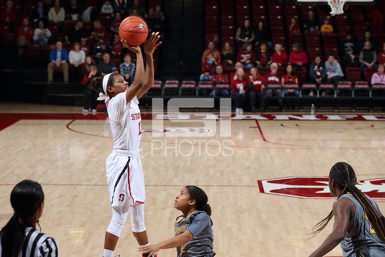 STANFORD, CA - December 22, 2015: Stanford defeats CSU Bakersfield 83-41 at Maples Pavilion.