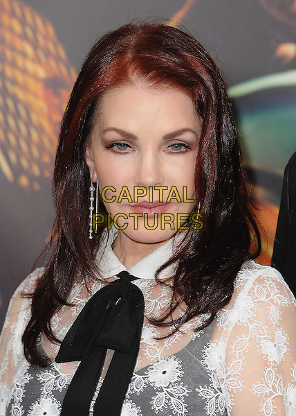 HOLLYWOOD, CA - MAY 7:  Priscilla Presley at the Los Angeles premiere of &quot;Mad Max: Fury Road&quot; at the TCL Chinese Theatre on May 7, 2015 in Hollywood, California. <br /> CAP/MPI/PGSK<br /> &copy;PGSK/MediaPunch/Capital Pictures